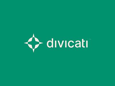 Divicati brand identity logo design branding minimal logomark logo yoga d d logo