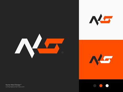Nadeshot esports logo design branding minimal logomark logo futuristic modern ns logo s logo n logo esports logo gaming logo gaming