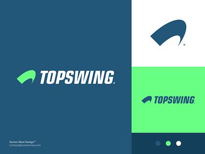 Topswing brand identity t logo t branding logo design minimal logomark logo fitness logo fitness gym logo gym sports logo sports tennis logo tennis