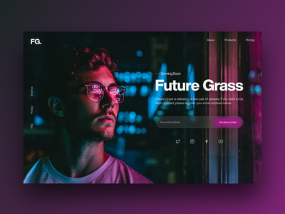 Daily UI 048 - Coming Soon graphic design website design ui  ux web design web daily uidaily uidesign uiux userinterface ui design dailyui48 user interface product design daily ui ux design ui dailyui daily 100 challenge