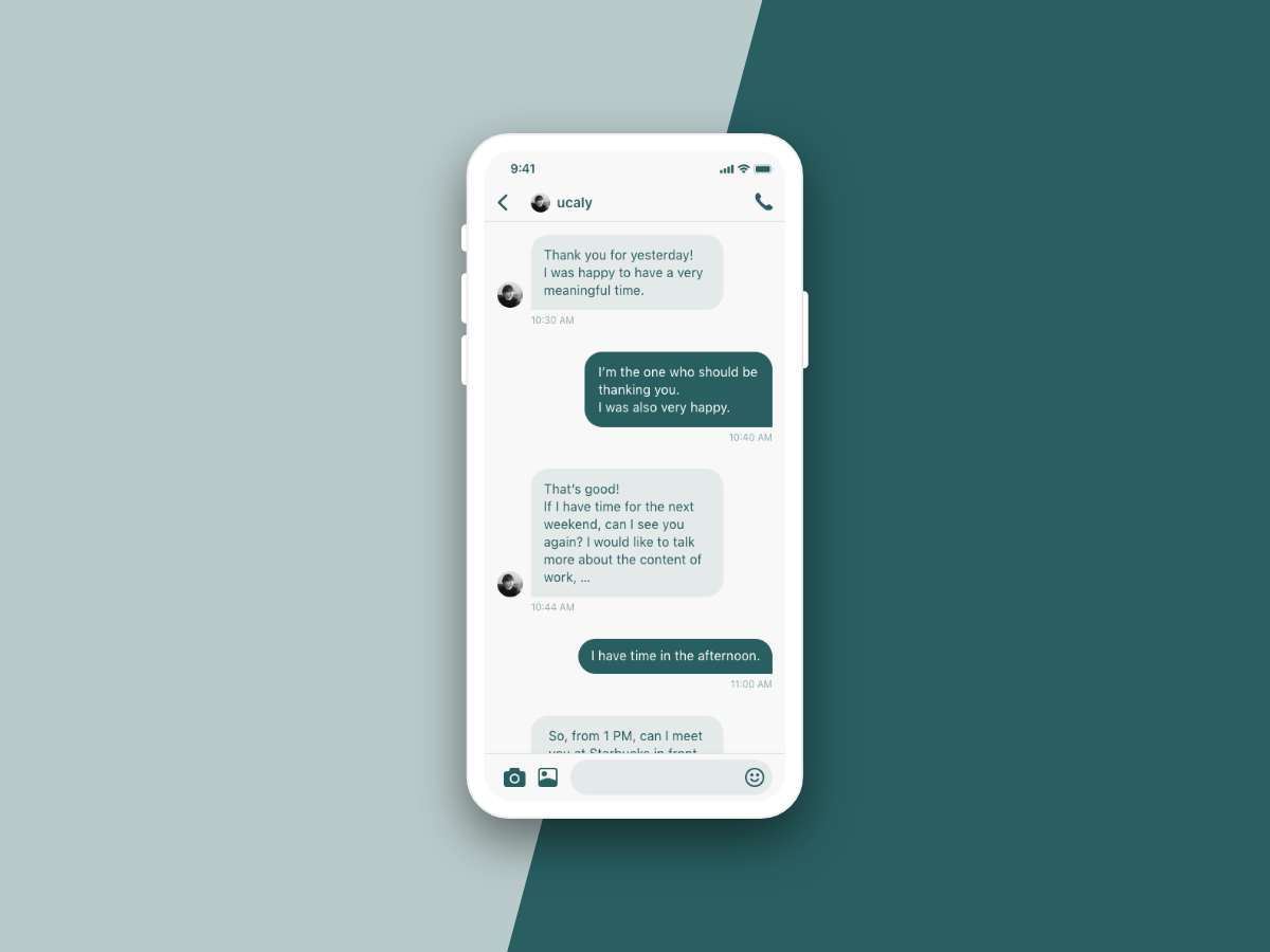 Daily UI 013 - Direct Messaging dailyui013 daily ui 013 message messaging app direct messaging ui design dailyui daily 100 challenge daily