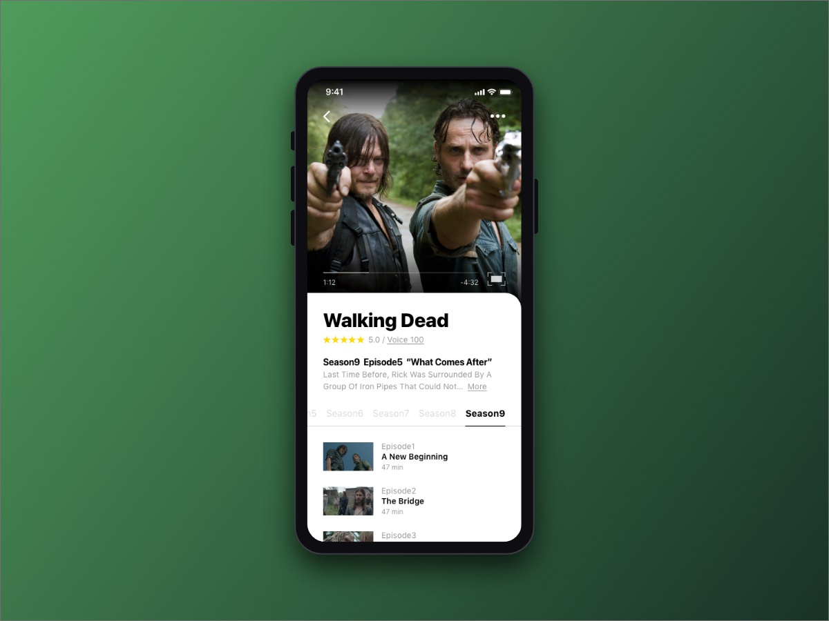 Daily UI 025 - TV App by ucaly on Dribbble