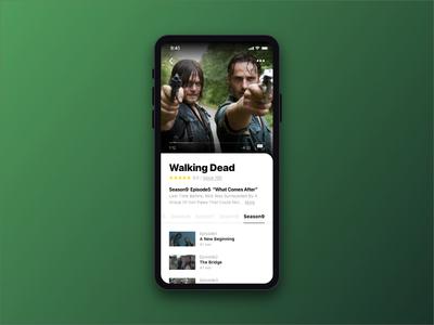 Daily UI 025 - TV App