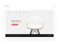 "UI/UX for E-commerce ""HOME"""