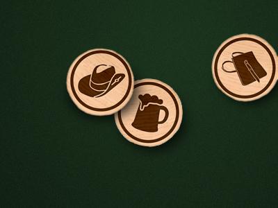3 tokens wood token icons items lbs