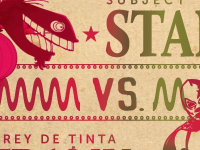 Evento Principal! monster hatcheree contribution poster mexico lucha libre