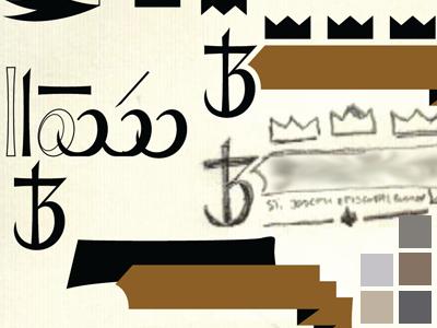 Parts builds logo banner crown symbol