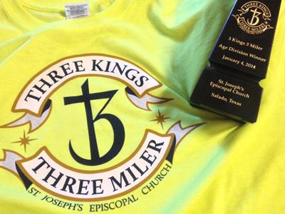Shirtrophy logo shirt award 5k religion banner