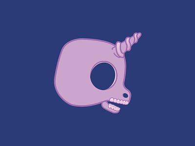 My Lil Skully pony unicorn skull 1-inch buttons