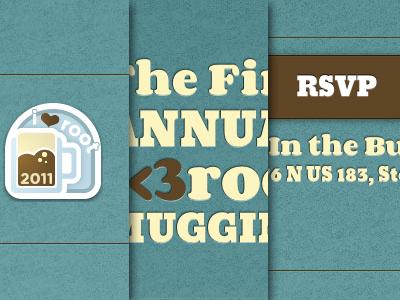 i<3root Mugging blue brown event rsvp root beer
