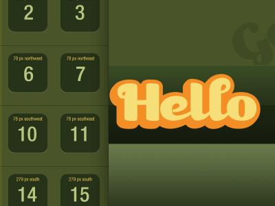 Hello iphone wallpaper gowalla lock screen home screen