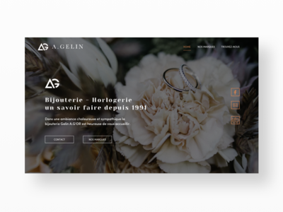 Landing page - A gelin