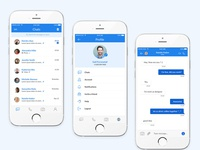 Chat Mobile Application UI