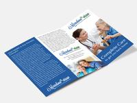 Nursing and Rehabilitation Brochure Design