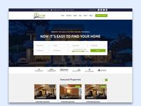 Property Sale & Rent website design