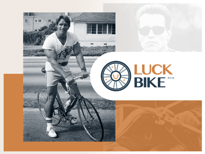 Luck Bike ™️ - Land and Brand Exercise #5 brazil biking bike unfold concept brand design brand identity branding