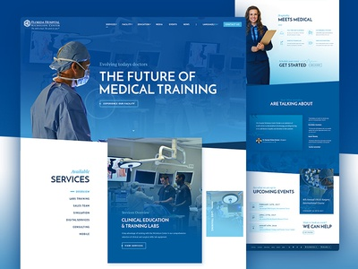 Florida Hospital Nicholson Center is live! website drupal hospital ui drupal 8 medical florida hospital orlando orlando web design web design