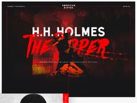 Mocktober 2017 holmes the ripper