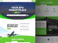 TAG Aero's APU Marketplace Website
