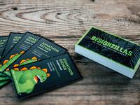Brand New Designzillas Business Cards