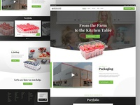 Highland's Plastic Produce Packaging Website