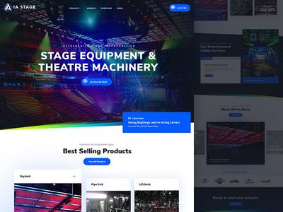 InterAmerica Stage Website Design