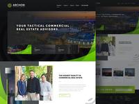 Archon Commercial Real Estate Website Launch