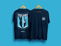 DZ : Frost Giant t-shirts