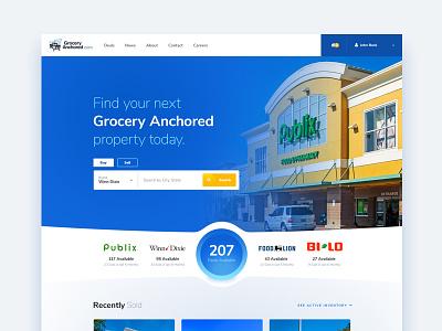Commercial Real Estate Website ux ui designzillas web design real estate