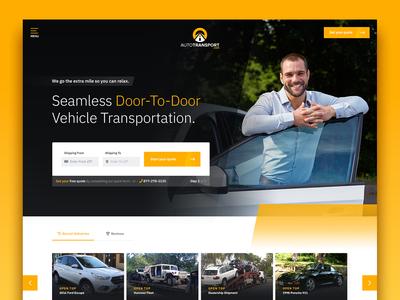 AutoTransport.com Vehicle Transportation Website