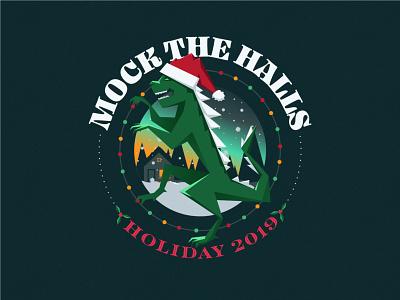 HO HO HOLY 💩 |  MOCK THE HALLS 2019 mockthehalls2019 christmas logodesign challenge designzillas webdesign illustration mockthehalls