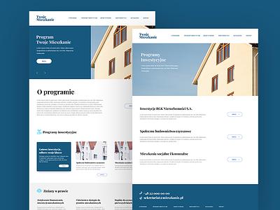 real estate - landing page landingpage realestate webdesign web layout