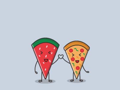 Watermelon ♡ Pizza