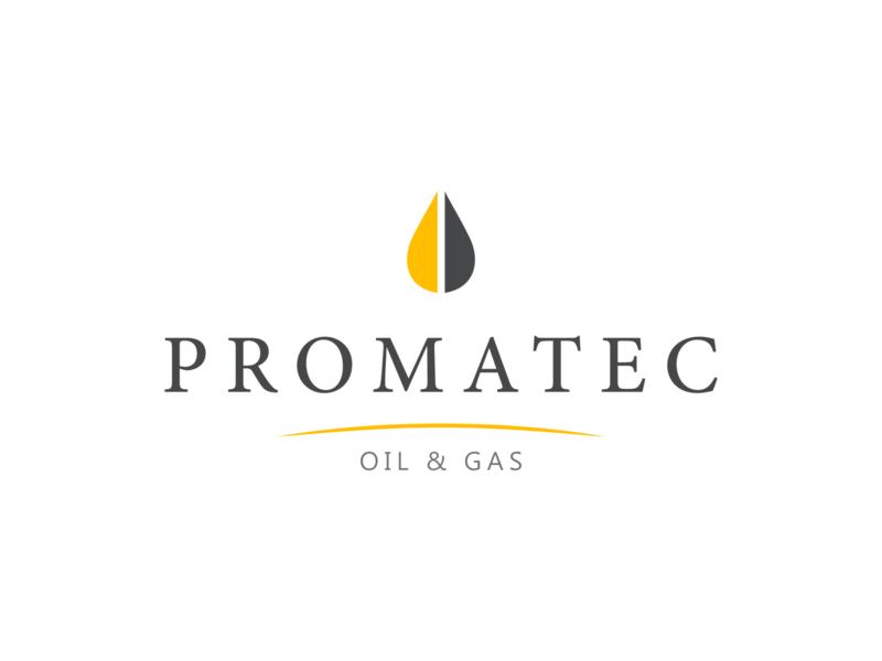 Promatec design vector illustration logo