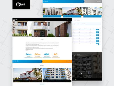 Czan website app web ux design