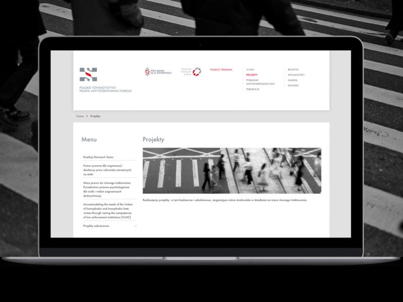 PTPA website design web ux
