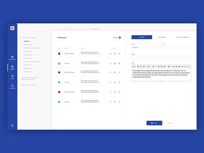 MHC dashboard app design ux