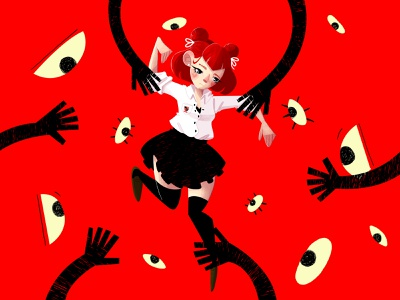 Teen Abuse art photoshop art characters photoshop draw character design drawing digital painting illustration digital art