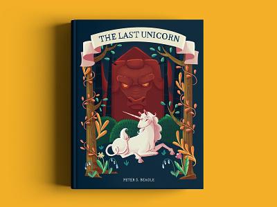 The last unicorn - Book cover unicorn book children book book cover book cover design digital painting characters illustration digital art