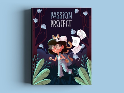 Book Passion Project children illustration art book cover art book cover drawing draw photoshop design character design characterdesign characters digital painting illustration digital art