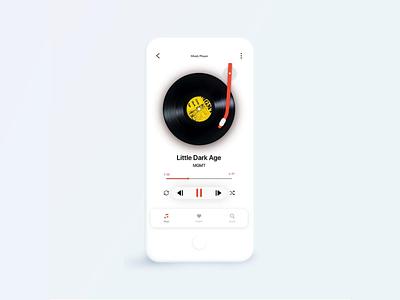 Music Player design music player ui