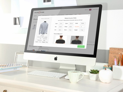 Online Shirt Measuring Tool