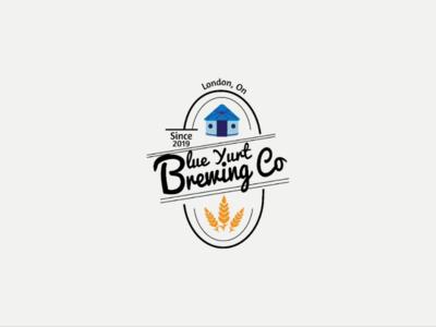 Blue Yurt Brewing Co. Logo
