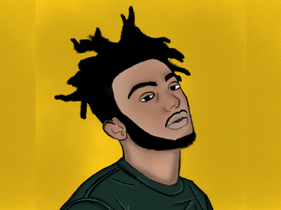 Aminé photoshop drawing designer student work art student graphic design illustration design creative adobe
