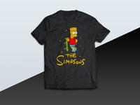 The Simpsons - tshirt
