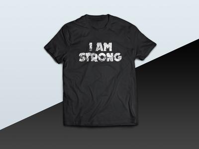 I Am Strong - tshirt