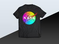 Colorful Nasa Image tshirt