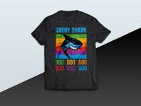 Daddy Shark Doo Doo Doo Doo Doo Doo tshirt