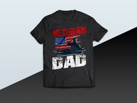 Veteran Dad tshirt