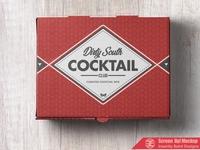 Custom Cocktail Package Box Design